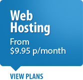 Website Hosting from $9.95 per month